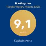 9.1 Traveller Review Awards 2020 Booking.com