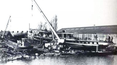 Op-de-werf-in-Muiden-1976